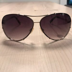 Michael Kors Stella aviator sunglasses brown/gold